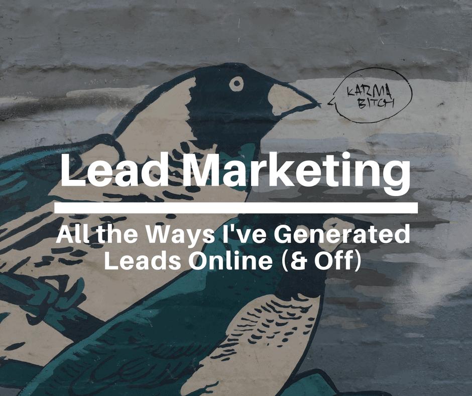 lead marketing leads online
