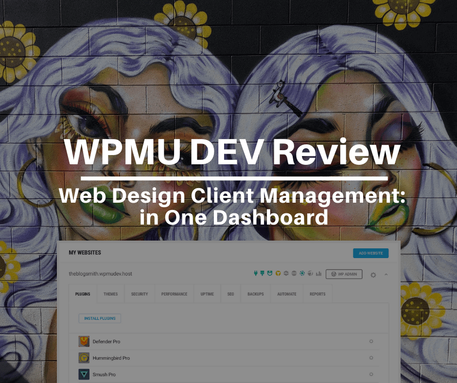 WPMU DEV Review: Web Design Client Management in One Dashboard