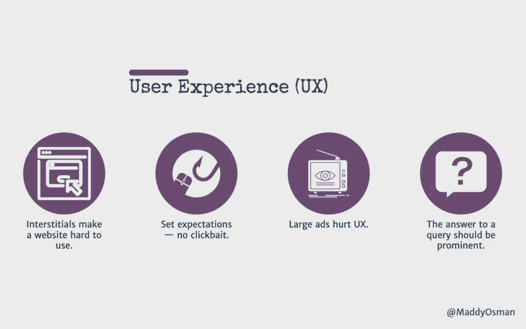 User Experience Considerations-UX