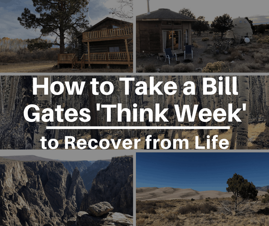 how to take a bill gates think week