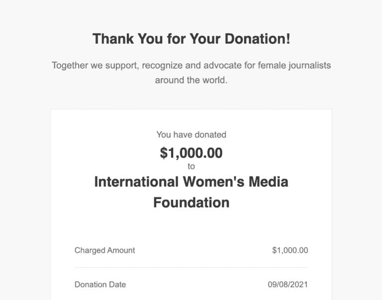 International Womens Media Foundation