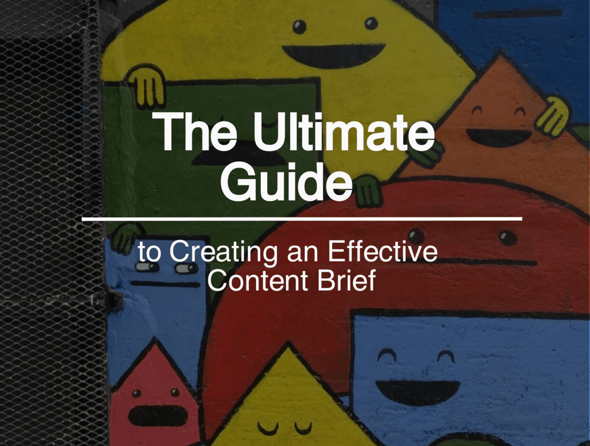 What Is a Content Brief Building a Content Marketing Process